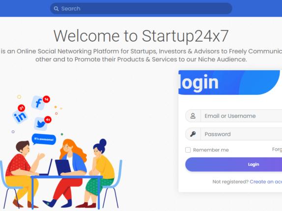 Welcome to Startups24x7.com